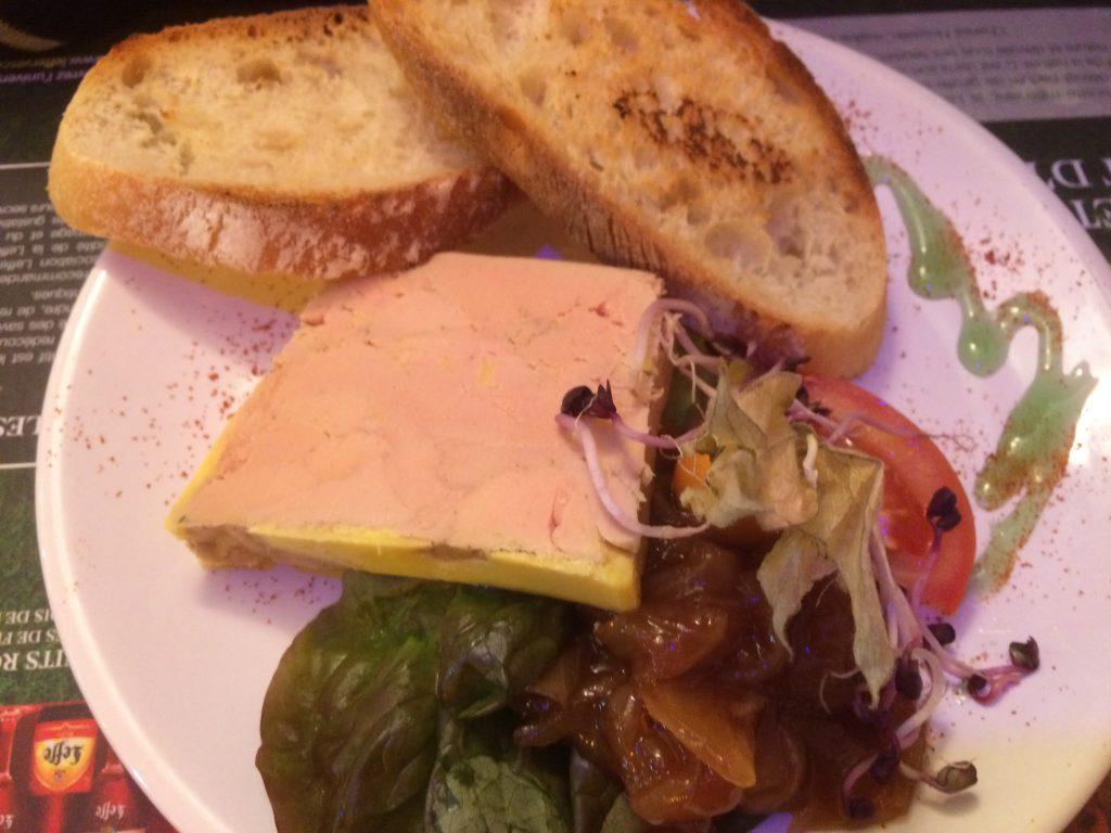 Marbré de foie gras mi-cuit au Pineau des Charentes
